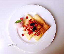 法式可丽饼Crepe的做法