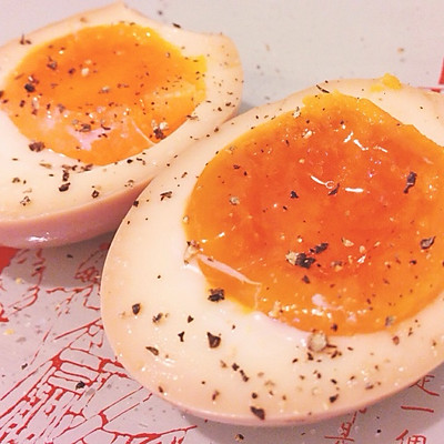 酱油溏心蛋