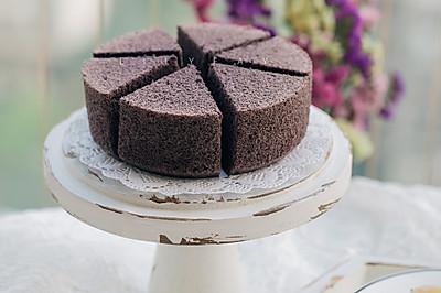 6寸黑米蒸蛋糕