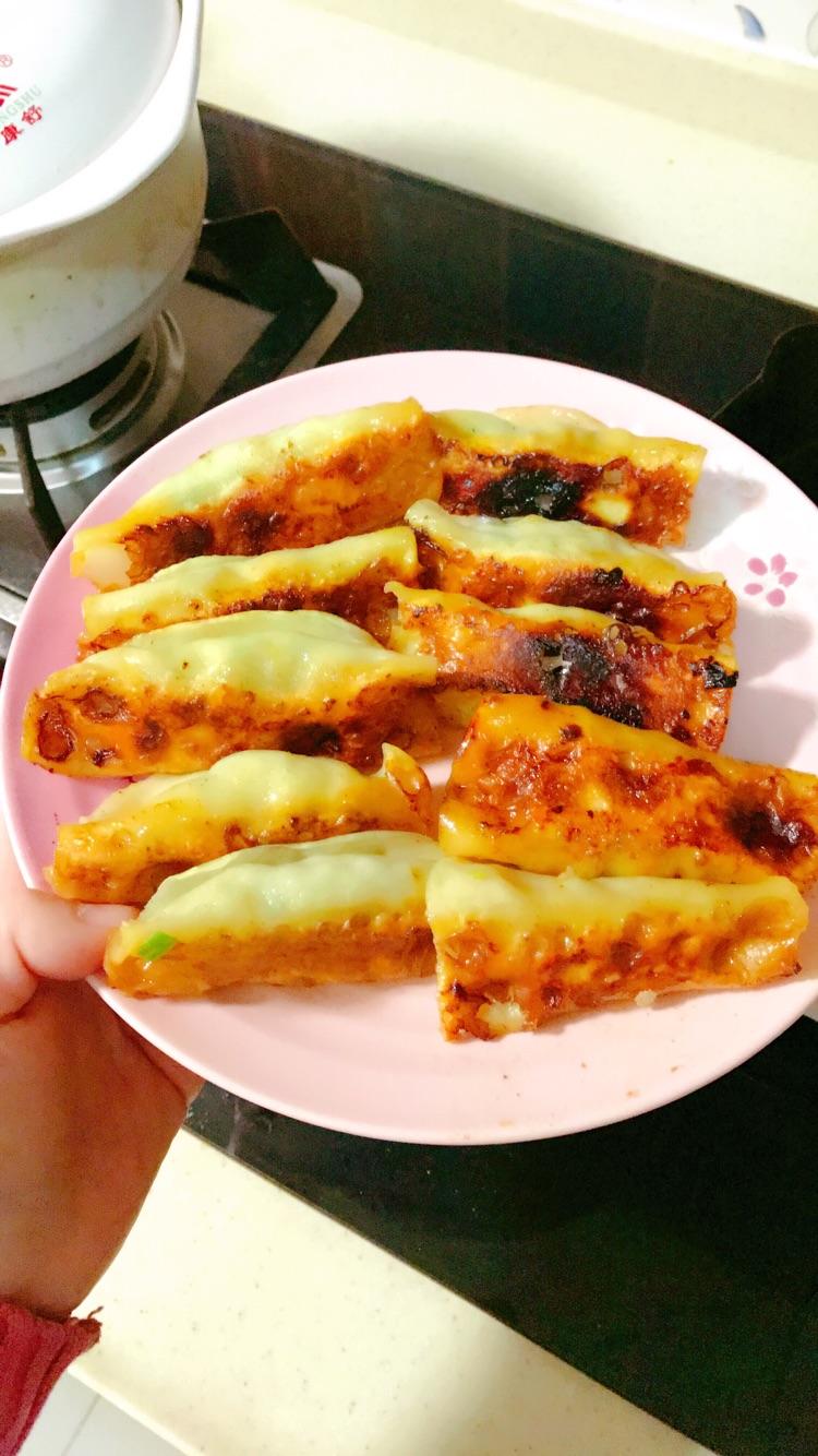 鲜肉韭菜杏鲍菇锅贴