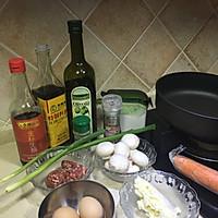 牛肉蘑菇芝士蛋饼的做法图解1