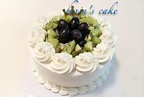 淡奶油裱花蛋糕的做法
