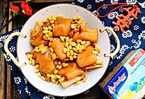招财就手~黄豆炖猪手#钟于经典传统味#的做法