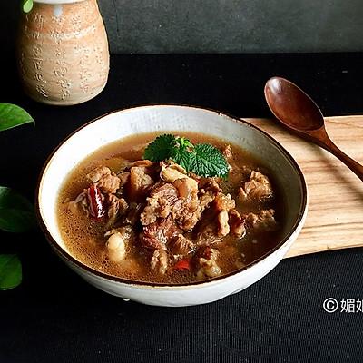 一锅出养生牛肉汤南瓜米饭#松下多面美味#