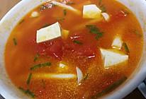 西红柿海鲜菇豆腐汤的做法