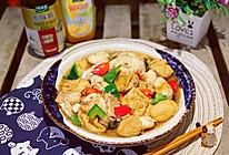 #做饭吧!亲爱的#油豆腐焖鱼腩的做法