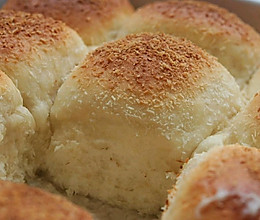 面包的椰奶浴--爆汁椰浆面包的做法