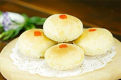 苏式鲜肉月饼丨网红咸月饼 就认准这一款【微体兔菜谱】