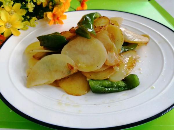 东北-青椒土豆片的做法