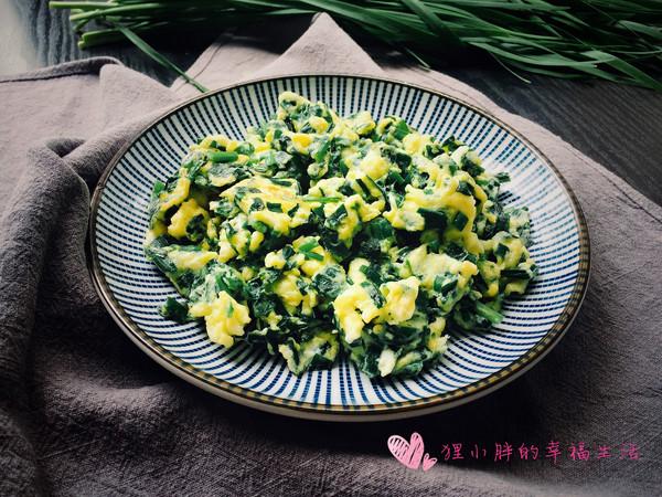 韭菜鸡蛋的做法