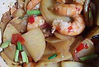 土豆片虾仁的做法