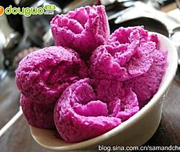 健康消暑的火龙果冰淇淋!的做法