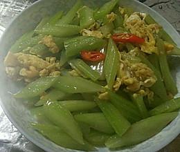 西芹炒蛋的做法