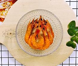 香烤对虾(空气炸锅版)#Gallo橄露橄榄油#的做法