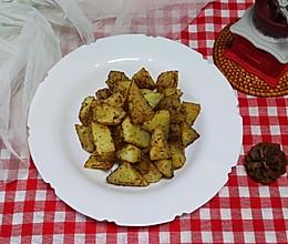 #全电厨王料理挑战赛热力开战!#椒盐烤土豆!的做法