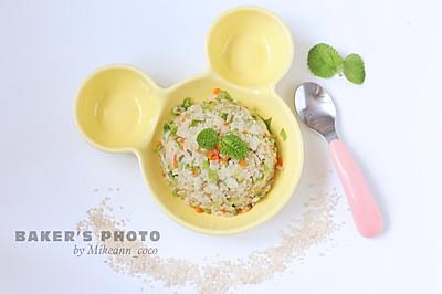 宝宝辅食—鱼肉蔬菜软饭