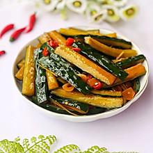 #520,美食撩动TA的心!#低脂爽脆开胃下饭的腌黄瓜条