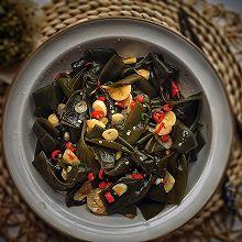 #花10分钟,做一道菜!#酸辣海带结