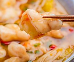 金汤虾滑片的做法