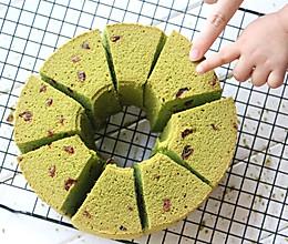 蔓越莓抹茶蛋糕的做法