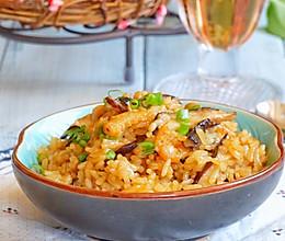 海米香菇焖饭#美的初心电饭煲#的做法