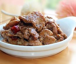 下饭菜,黑胡椒鸡胸肉的做法