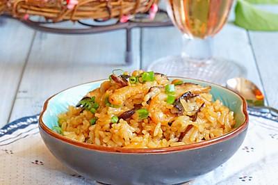 海米香菇焖饭#美的初心电饭煲#