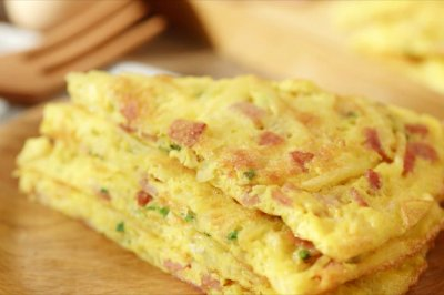十分钟就能做好的美味早餐饼——香煎土豆丝饼