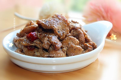 下饭菜,黑胡椒鸡胸肉