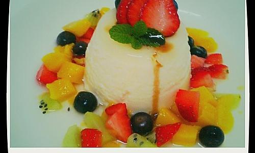 意大利甜品panna cotta的做法