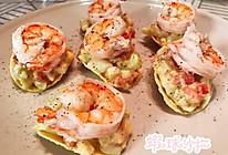 虾球沙拉的做法