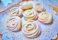 彩虹玫瑰蛋白饼干的做法