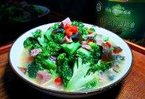 #橄享国民味 热烹更美味#上汤西兰花的做法