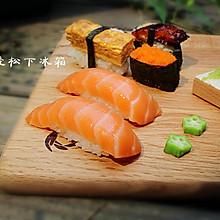 #头等舱的cool炫美食#——三文鱼寿司