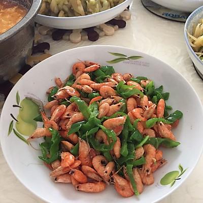 青椒小虾米