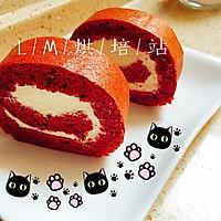 香蕉红丝绒蛋糕卷的做法图解16
