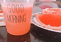 西柚雪梨汁(果语原汁机)的做法