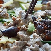 【软熘肉片】木耳黄瓜里脊肉,老北京吃法666!
