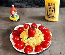 #植物蛋 美味尝鲜记#香葱炒植物蛋的做法