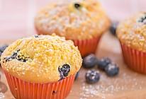 突然很想吃甜品?尝尝这款松软可口会爆浆的蓝莓麦芬吧!的做法