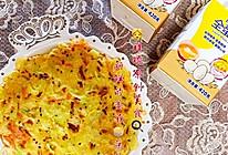 【原创早餐】新鲜的蔬菜鸡蛋饼的做法