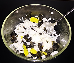 懒人海苔饭的做法