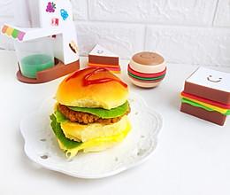 #520,美食撩动TA的心!汉堡包(附煎肉饼方法)的做法