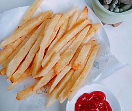 #我们约饭吧#儿童最爱【炸薯条】的做法