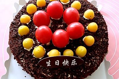黑森林蛋糕(8寸)