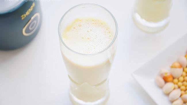 秋季来杯白果豆浆,滋润去燥又清肺的做法