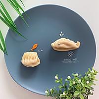 创意儿童早餐【小金鱼和大鲸鱼的对话】的做法图解8