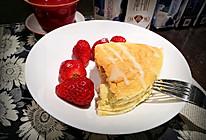 八寸无油蓝莓酸奶蛋糕的做法