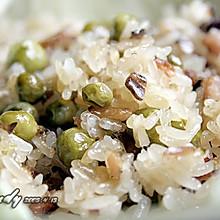 生炒豌豆糯米饭