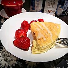 八寸无油蓝莓酸奶蛋糕